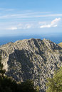 Serra de tramuntana mountains on mallorca spain Stock Photos