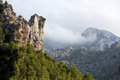Serra de tramuntana mountains on mallorca spain Royalty Free Stock Photography