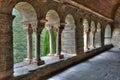 Serrabone Priory in Pyrenes orientales, France Royalty Free Stock Photo