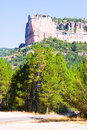 Serrania de cuenca in summer rocky mountains landscape at castilla la mancha Royalty Free Stock Photos