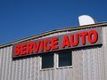Service auto Royalty Free Stock Photos