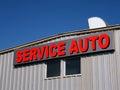 Service auto Royalty Free Stock Photos