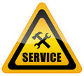 Service support sign Stock Photo