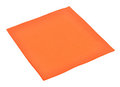 Serviette de papier orange Photos libres de droits