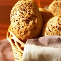 Sesame seed buns Royalty Free Stock Photo