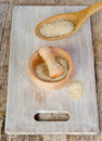 Sesame seeds . Royalty Free Stock Photo