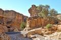 Sesriem Canyon near Sossusvlei. Namibia Royalty Free Stock Photo