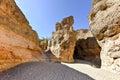 The Sesriem Canyon - Sossusvlei, Namibia Royalty Free Stock Photo