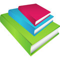 Set of 3 Books Stock Photo