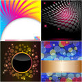 Set abstract backgrounds. Royalty Free Stock Image