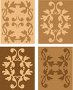 Set of antique  design elements Royalty Free Stock Photo