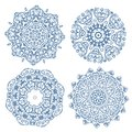 Set of arabesque ornament for your design this is file eps format Royalty Free Stock Photography
