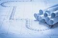 Set Of Architecture Blueprint ...