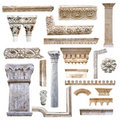 Set of architecture details Royalty Free Stock Photo