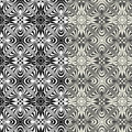 Set of art nouveau patterns Royalty Free Stock Image