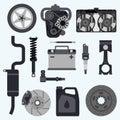 Set auto parts