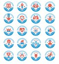 Set of Awards Vector Icons - vector sign