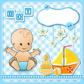 Set baby design elements. Royalty Free Stock Photo