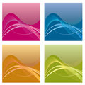 A set of backgrounds Royalty Free Stock Image