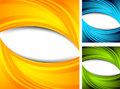 Set of backgrounds Royalty Free Stock Image