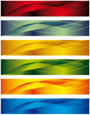 A set of banners Royalty Free Stock Images