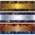 Set banners. Royalty Free Stock Photo