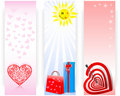 Set banners. Royalty Free Stock Image