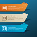 Set of banners vector illustration Royalty Free Stock Photos