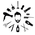 Set of Barber tools for men