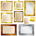 Set of beautiful frames Royalty Free Stock Photo