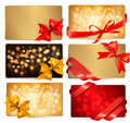 Set of beautiful gif cards Stock Photo