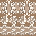 Set of beautiful lace vector trims can be used for backgrounds or scrap booking Stock Image