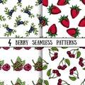 Set Berry Patterns