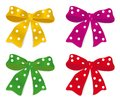 A set of bows Royalty Free Stock Photo