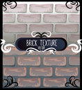 Set of brick textures