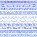 Set of brushes to create Greek Meander patterns