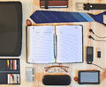 Set of business accessories office concept Royalty Free Stock Photography