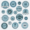 Set of business badges and stickers Stock Image