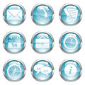 Set Business Gloss Button