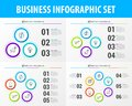 stock image of  Set of Business infographic elements. Modern design template