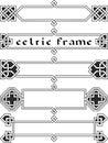 Set celtic frame