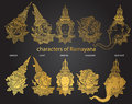 Set Characters Of Ramayana
