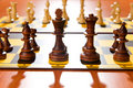 Set of chess figures Royalty Free Stock Photos