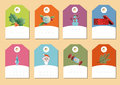 Set of christmas icons vector this is file eps format Royalty Free Stock Photos