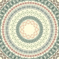 Set  of circle vintage patterns Stock Photography