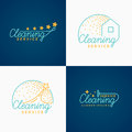 Set. Cleaning Logo.
