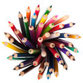 Set color pencil Royalty Free Stock Images