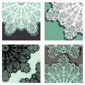 Set of colored abstract backgrounds vector greeting card patterned design Royalty Free Stock Images