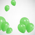 Set of colored balloons Stock Photos