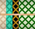Set colored square pattern. cream, emerald, gold, green Royalty Free Stock Photo